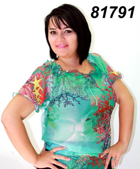 Купить Шифоновые Блузки Для Полных Женщин